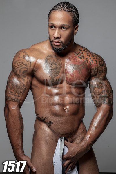 Black male stripper image 1517-1