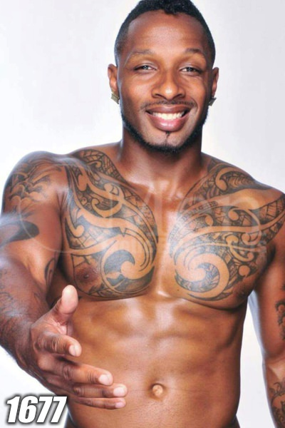 Black male stripper image 1677-1